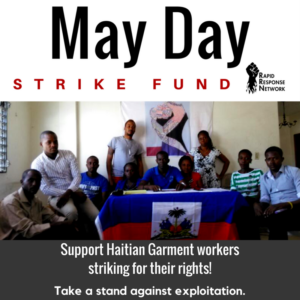 Strike Fund for May Day!
