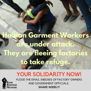 Haitian Workers Brutally Attacked. ACT NOW.