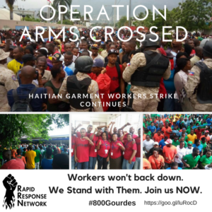 UPDATES. Repression Mounting. Join Operation Arms Crossed.