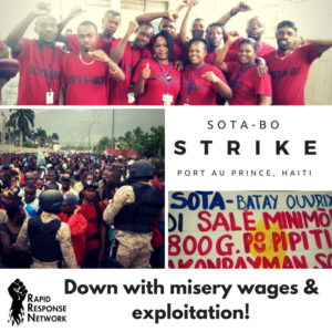 Strike Shuts Down Garment Factories in Port Au Prince. Owners Make False Claims.